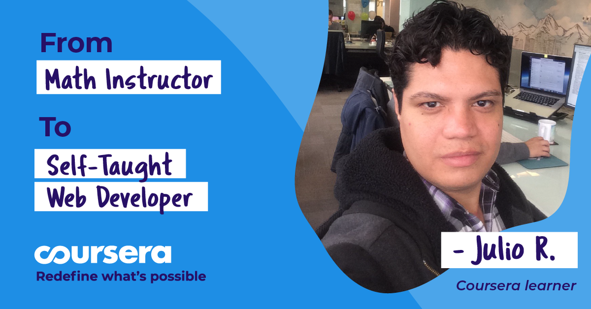 Self-taught web developer proves that anything is possible