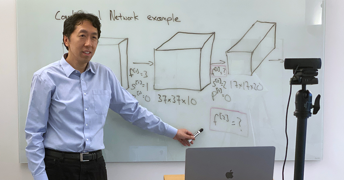 A Quick-Start Guide to Teaching from Home by Andrew Ng